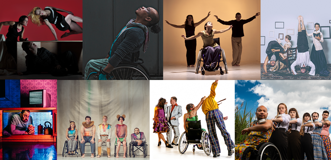 A selection of images from various Stopgap productions.