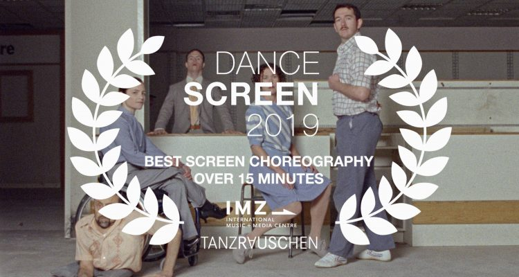 Artificial Things overlaid with Dance Screen 2019 Best Screen Choreography over 15 minutes award logo.