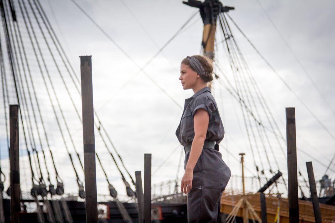 Siobhan in The Seafarers.