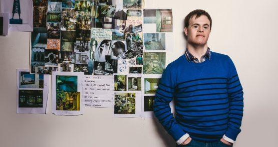 Portrait of Chris Pavia. Photo by Chris Parkes.
