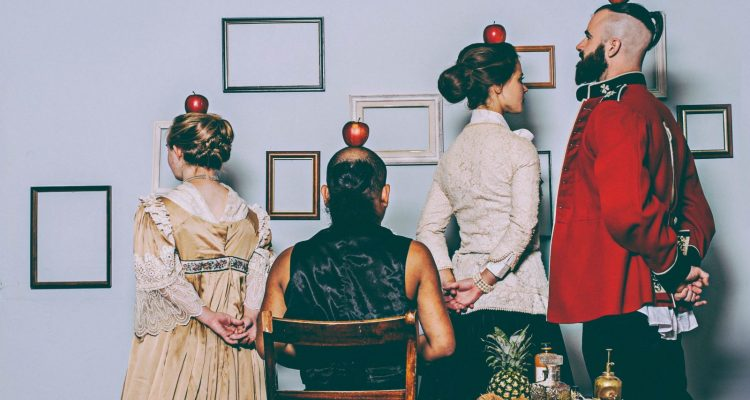 Photo from Stopgap's 2014 production, Exhibition