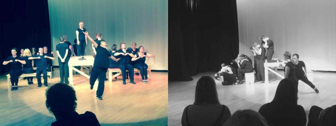 The Seafarers rehearsal photos.