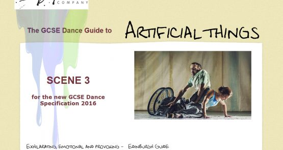 Screenshot of the homepage of the GCSE guide to Artificial Things