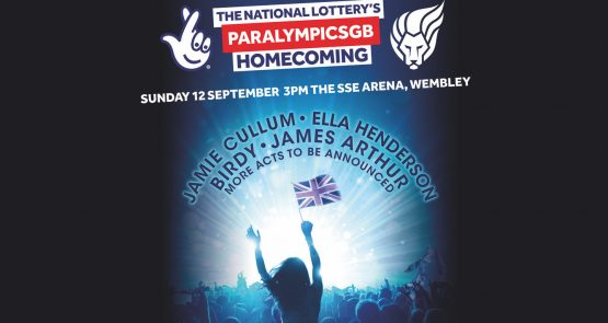 A poster of Paralympic Team GB Homecoming event